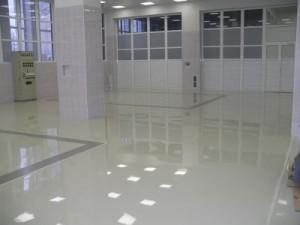 Промышленные полимерные полы (полиуретановые наливные полы)